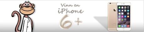 Besök Paf och tävla om en iPhone 6 plus på Funky Monkey