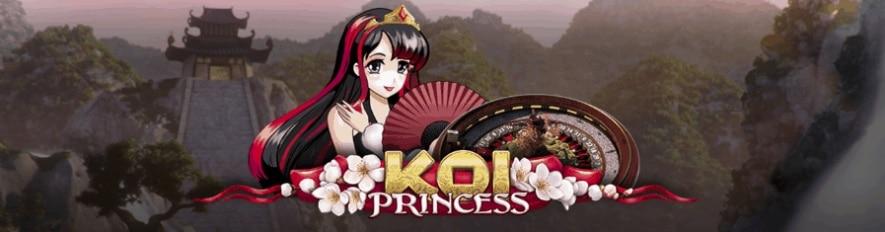 Koi Princess live roulette kampanj