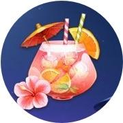 Spina Colada drinkar och andra somriga symboler!