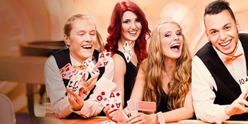 Free spins och bonusvinster i LeoVegas Live casino!