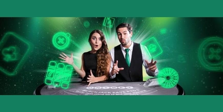 Tävla om en del av 200 000 kr i live casinot hos unibet