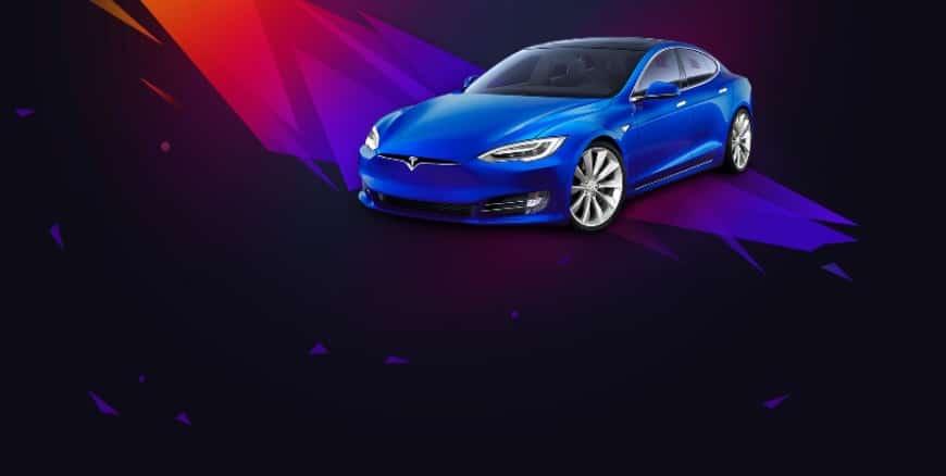 Vinn en helt ny Tesla hos iGame Casino!