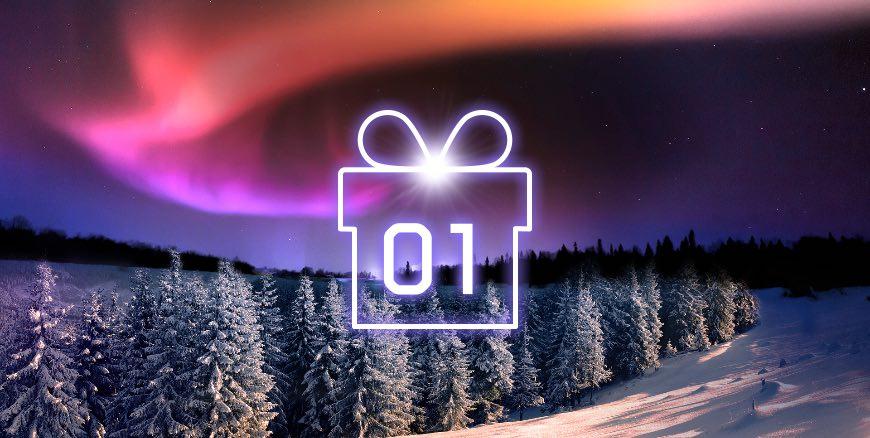 Årets julkalender hos Maria Casino!