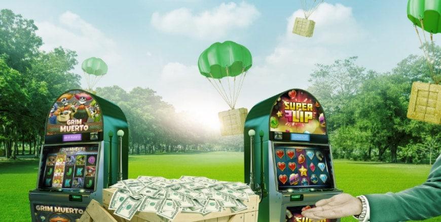 Vinn upp till 10 000kr i veckan hos MrGreen Casino!