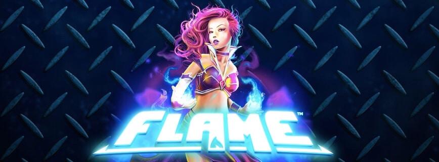 Du kan spela Flame gratis hos LeoVegas