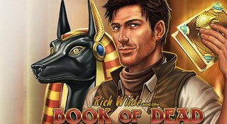 Spela om freespins på Book of Dead