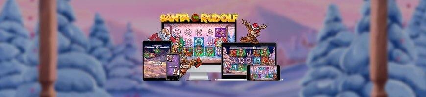 Santa vs Rudolph slot från NetEnt