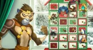 Ta del av en cashfylld jul hos MrGreen!