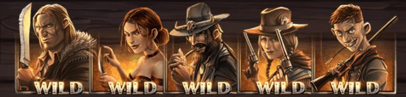 Revolvermän är Wilds i Dead or alive 2 slot