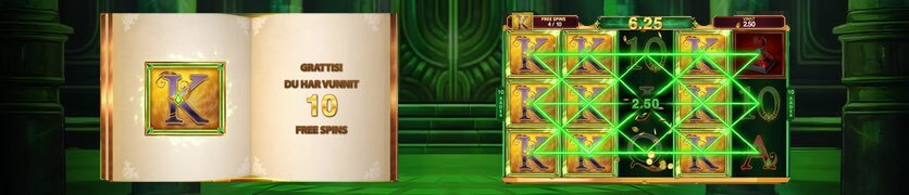Book of Oz free spins