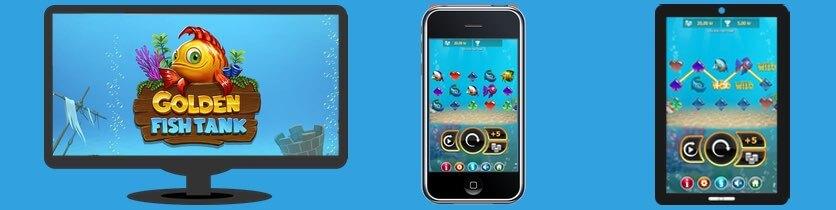 Spela Golden Fish tank i mobilen