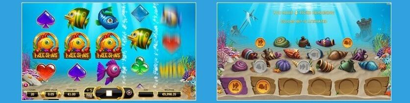 Fish Tank slot Bonus
