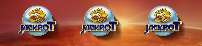 Dragon Chase jackpot scatter