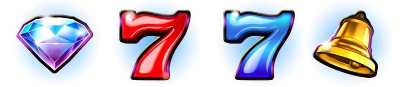 Prime Zone slot symboler