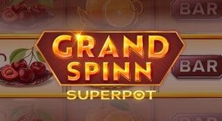 Stor jackpott på Grand Spinn Superpot hos betsson