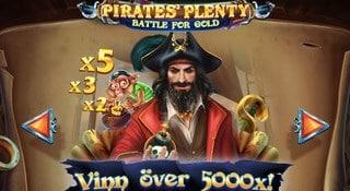 Ny slot - Pirate's Plenty Battle for Gold