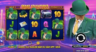 Ny slot - Vegas Adventures with Mr Green