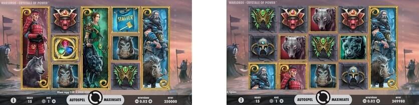 Spela Warlords: Power of Crystals gratis i mobil och dator
