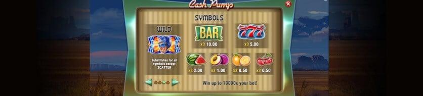 Spela Cash Pump gratis i mobil, surfplatta och dator