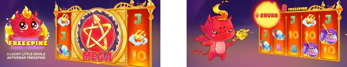 Lucky Little Devil free spins