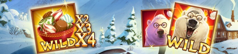 Bonus och free spins i Polar Paws spelautomat