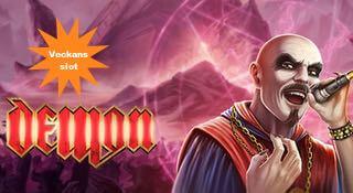 Veckans slot - Demons från Play n GO