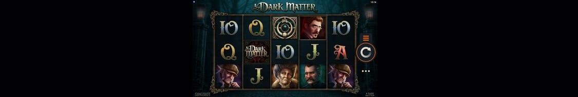 Bonus och free spins i A Dark Matter
