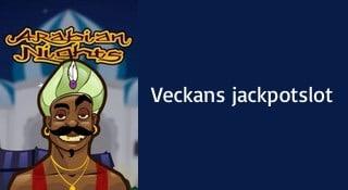 Arabian Nights - veckans jackpot slot nyhet