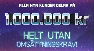 Hajper ny bonus - dela på en miljon kronor