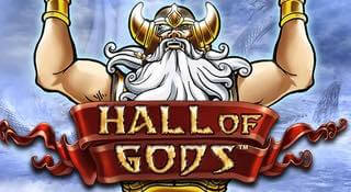 progressiva jackpottar i Hall of Gods slot