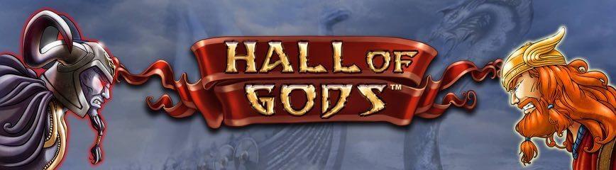 Tävla om en av tre progressiva jackpottar i Hall of Gods