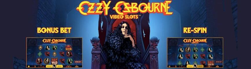 Ozzy Osbourne slot skapad av NetEnt