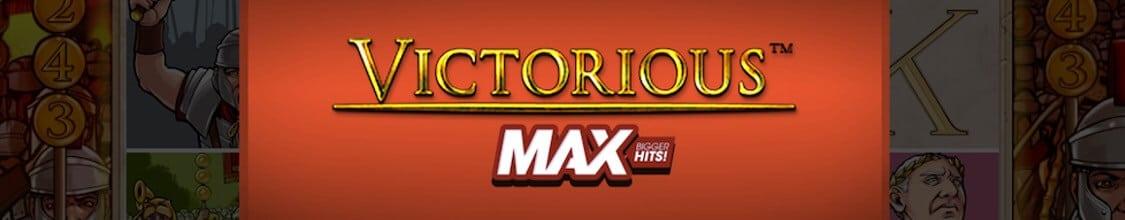 Victorious Max från NetEnt med hög volatilitet