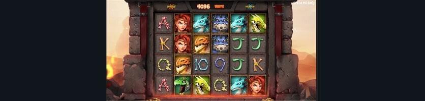 Bonus och free spins i Dragon Tribe