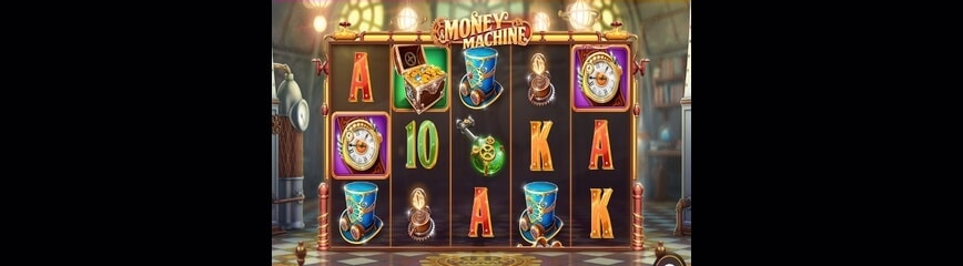 Money Machine slot från Cayetano Gaming