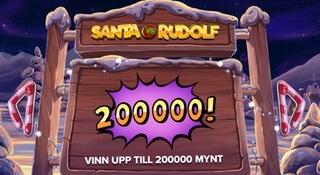 Santa VS Rudolf ny julslot - startbild