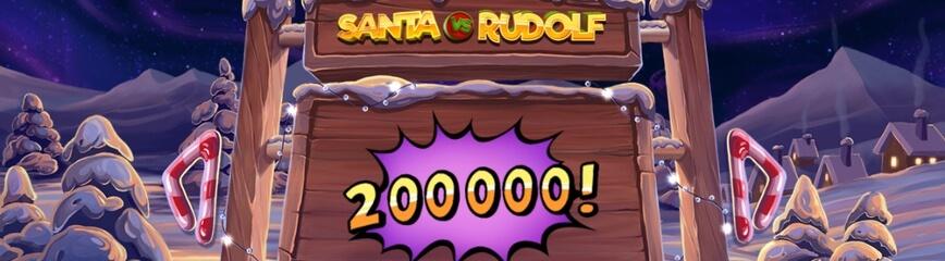 Ny julslot - Santa VS Rudolf från NetEnt