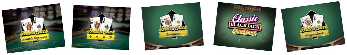 Det finns flera black jack varianter att välja mellan