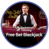 Free bet black jack