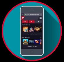 Maria casino mobil i app för android och iOS eller i webbläsaren