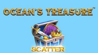 Omslagsbild nya Ocean's Treasure från NetEnt