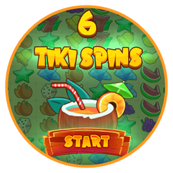 Bonusspel och free spins i Tiki Fruit slot