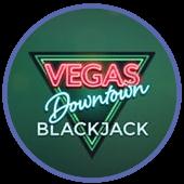 Vegas Downtown black jack