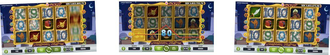 Arabian Nights casino spel