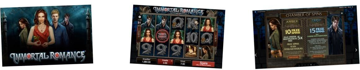 Immortal Romance casino
