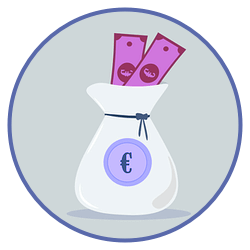 En välkomstbonus kan innehålla pengar och free spins