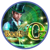 Book of Oz slot från Microgaming