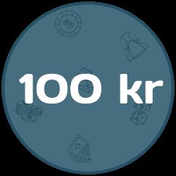 Casino insättning under 100 kr
