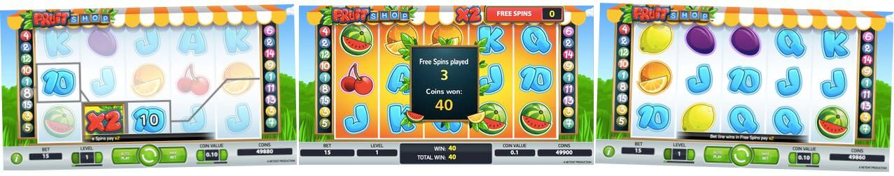 Spela Fruit Shop gratis