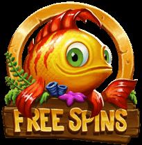 Golden Fish Tank free spins